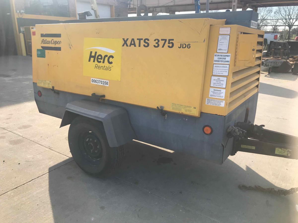 2012 Atlas Copco XATS375