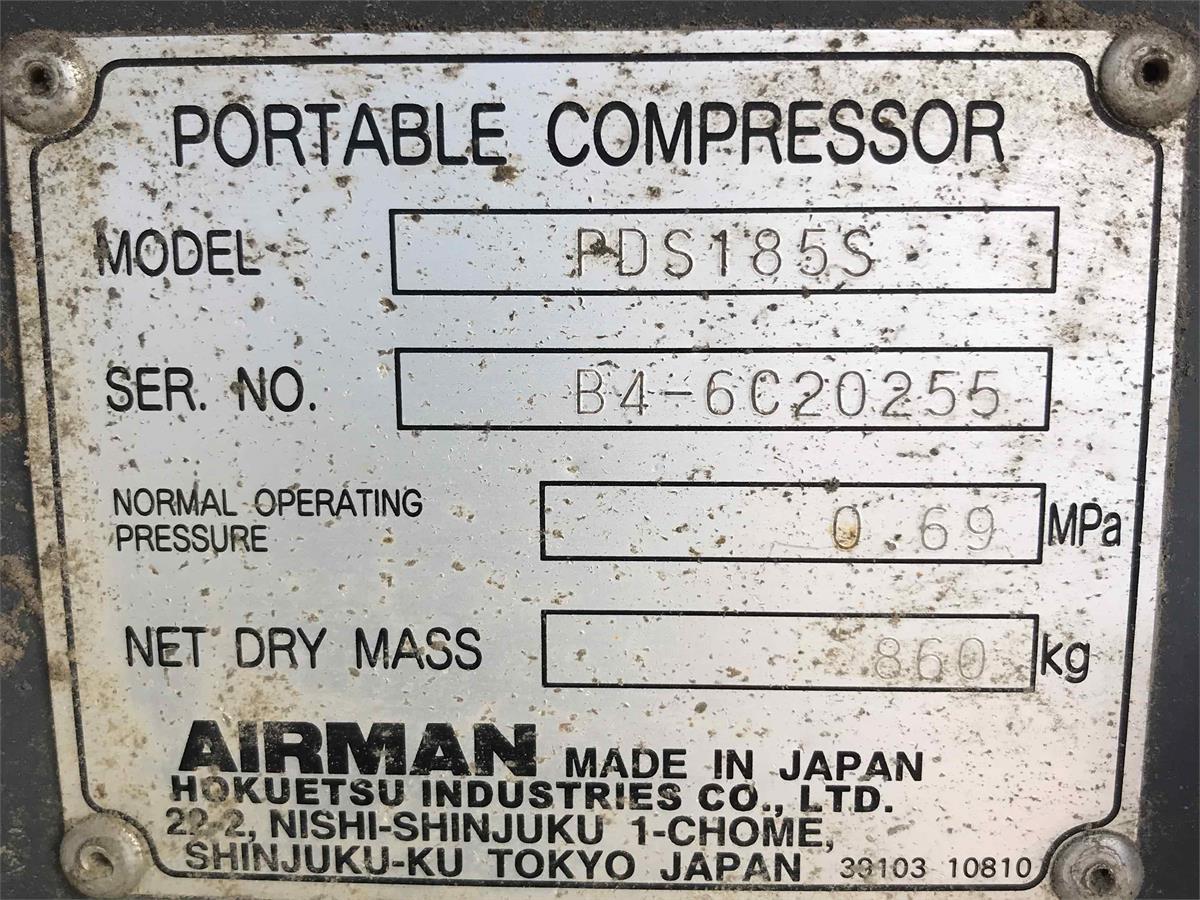 2011 Airman MMD PDS185S