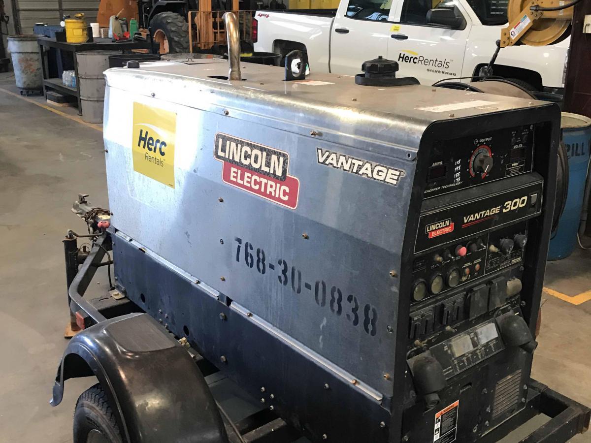 2013 Lincoln Electric Vantage 300