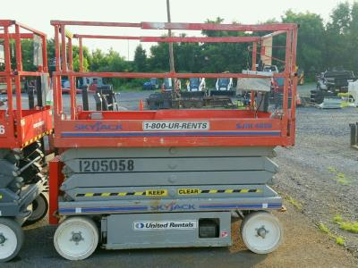 Detail photo of 2011 Skyjack SJIII 4626 from Construction Equipment Guide