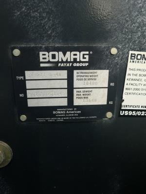 Detail photo of 2012 Bomag BW211D-40 from Construction Equipment Guide