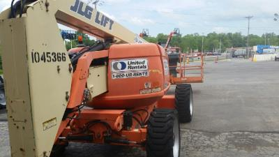 Detail photo of 2008 JLG 600A from Construction Equipment Guide