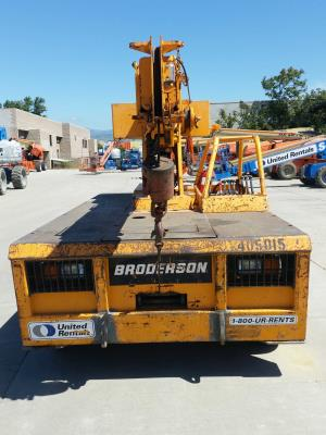 Detail photo of 2002 Broderson IC-80-1E from Construction Equipment Guide