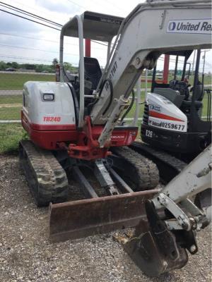 Takeuchi TB240 Excavators for Sale | CEG