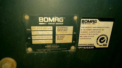 Detail photo of 2012 Bomag BW213DH-40 from Construction Equipment Guide