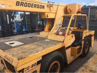 Detail photo of 2002 Broderson IC-80-1F from Construction Equipment Guide