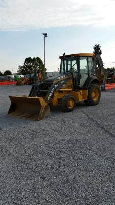 Detail photo of 2012 John Deere 310J from Construction Equipment Guide