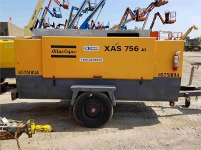 2006 Atlas Copco XAS 756