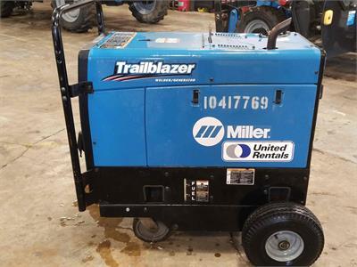 2015 Miller Trailblazer 325 (Skid-mounted)