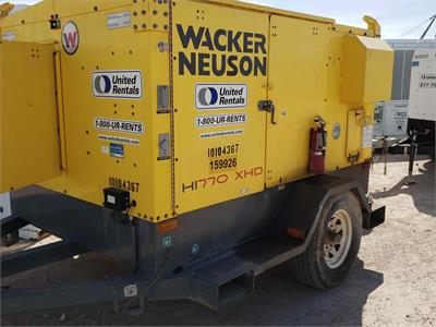 2012 Wacker Neuson HI770XHD