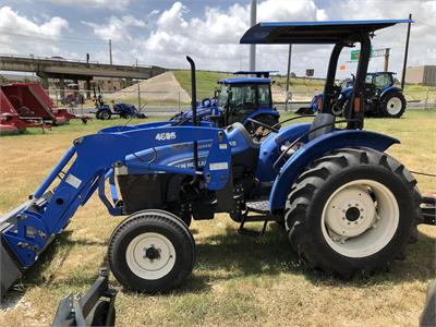 2012 New Holland Workmaster 55