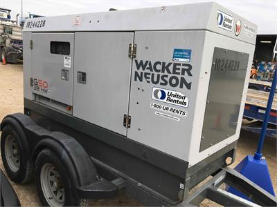 Wacker Neuson G 50 2014