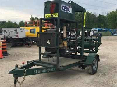 2010 Bayou City Pump Sludgemaster H4X12B