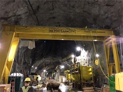 2008 Washington Crane & Hoist 40 Ton (Gantry Crane)