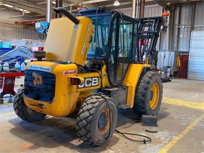 2012 Jcb 930 4-WD