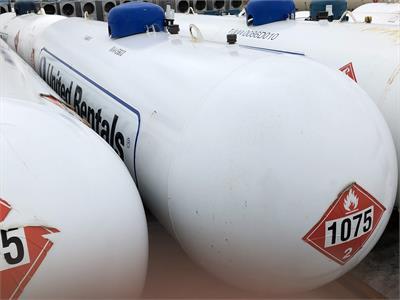 2016 Manchester Tank 1000 Gallon LPG