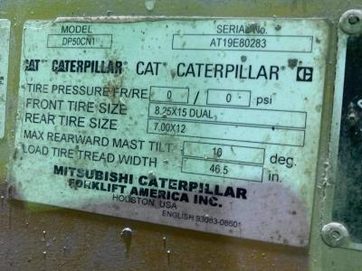 2016 Caterpillar DP50CN