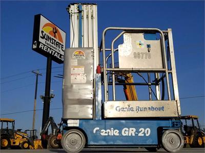 2011 Genie GR-20