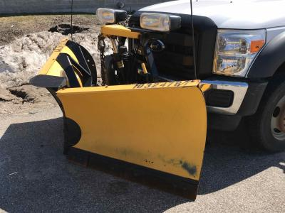 2014 Fisher 8' Plow