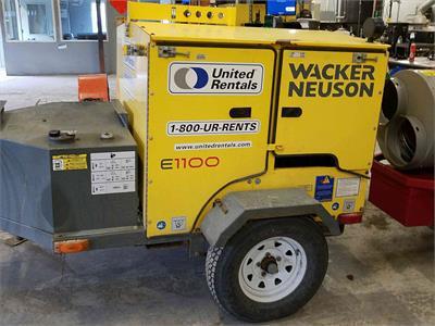 2013 Wacker Neuson E 1100