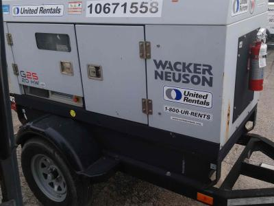 Wacker Neuson G 25 2017
