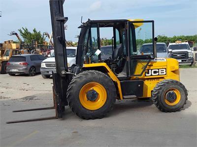 2014 Jcb 930 4-WD