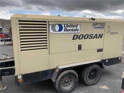 2013 IR Doosan HP750 T4i