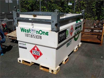 2012 Western Global TransCube 20TCG (w/Pump)