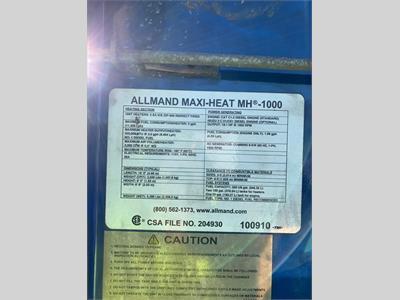 2014 Allmand Maxi-Heat 1000