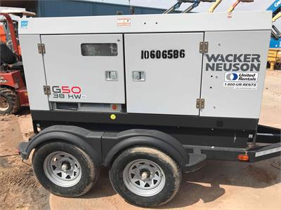 Wacker Neuson G 50 2017