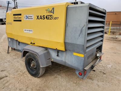 2013 Atlas Copco XAS 750 IT4