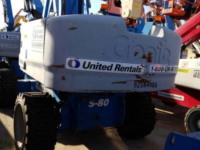 Genie  S-80X 2012