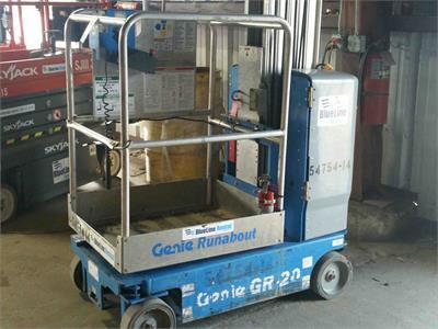 2012 Genie GR-20