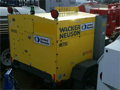 2012 Wacker Neuson E 1100