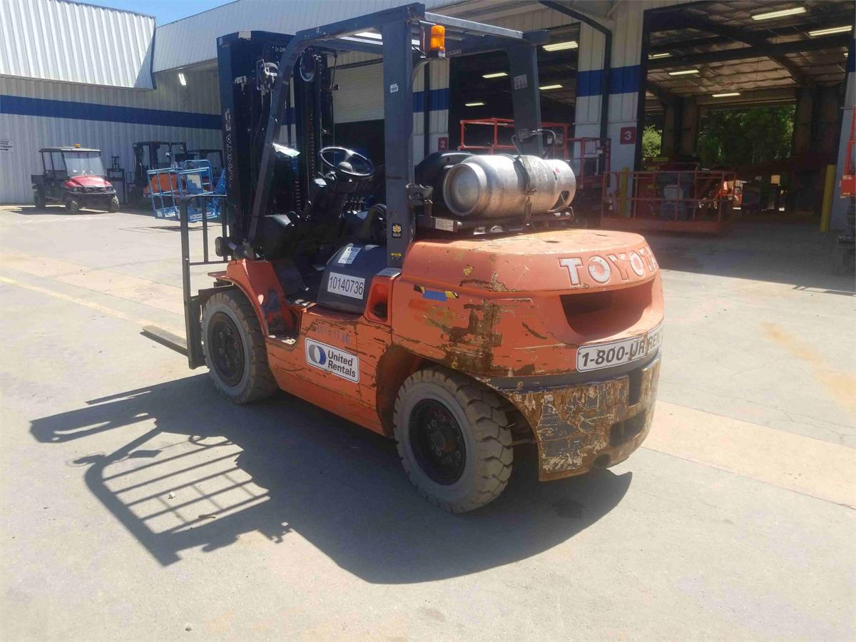Used Equipment Forklifts Material Handling Warehouse Forklifts 2013 Toyota 7fgu35