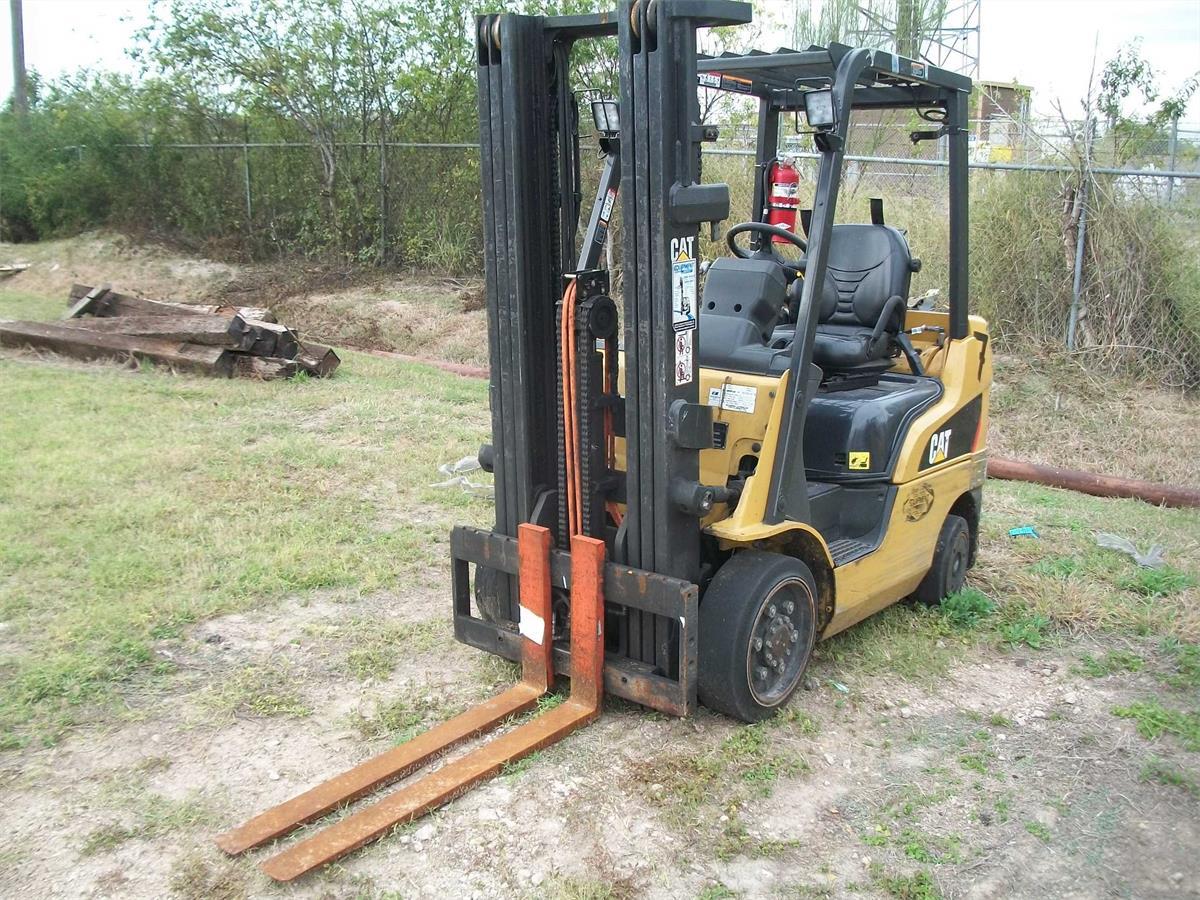 2007 Caterpillar C5000 - 0-19999 Lb Engine-Driven Forklift