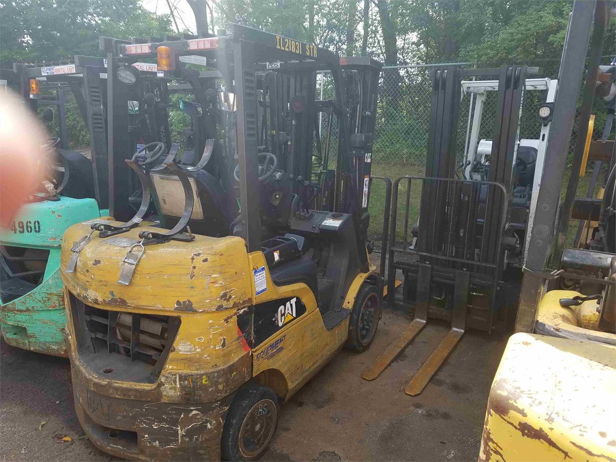 2012 Caterpillar 2C5000 - 0-19999 Lb Engine-Driven Forklift